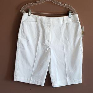 Talbots White Shorts NWT Size 12P